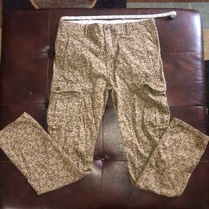 Levi's Camouflage Cargo Pants/Jeans